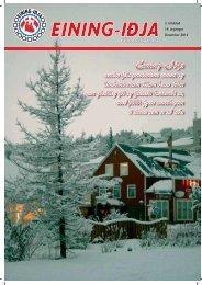 Hér má lesa jólalblaðið - Eining-Iðja
