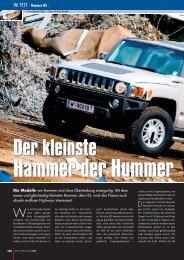 hummer h3 xpress - AUTO aktuell