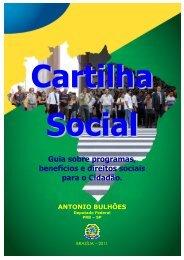 Guia sobre programas, benefícios e direitos sociais para o Cidadão.