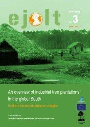 EJOLT Report 3 - Environmental Justice Organisations, Liabilities ...