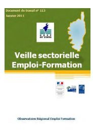 Approche par secteurs - FIORE-Corse