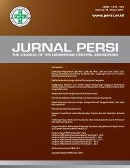 JURNAL PERSI - Pusat Data & Informasi PERSI