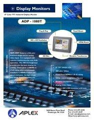 Datasheet - ADP1080 - Adcon Engineering Co