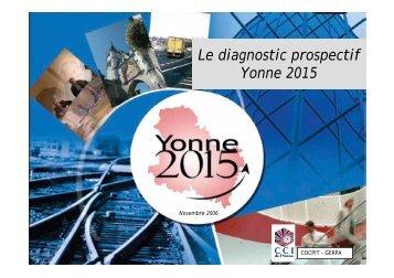 Le diagnostic prospectif Le diagnostic prospectif Yonne 2015