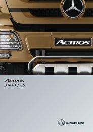 Actros 3344 B 6x4 - Mercedes Benz