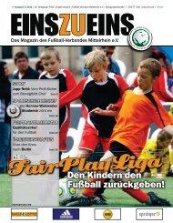 EINSZUEINS, Ausgabe 01/2011 - FairPlayLiga