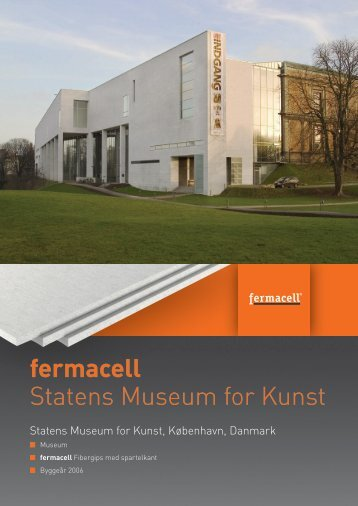 fermacell Statens Museum for Kunst