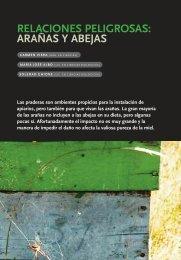 relaciones peligrosas: arañas y abejas - Instituto de Investigaciones ...