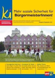 Mehr soziale Sicherheit für BürgermeisterInnen! - SPÖ ...