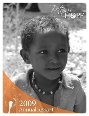2009 Annual Report - Brittany's Hope