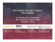 why mixed use isn't always the answer - New Partners for Smart ...