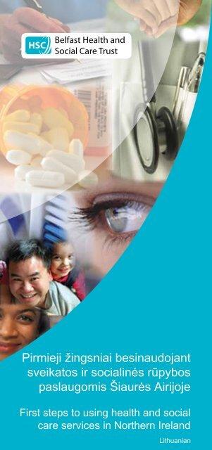 Pirmieji žingsniai besinaudojant sveikatos ir socialinės rūpybos ...