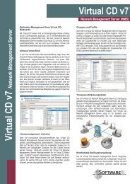 Virtual CD v7 VirtualCD v7 - H+H Software GmbH