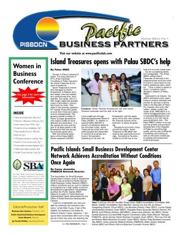 Island Treasures opens with Palau SBDC's help - Pacific Daily News