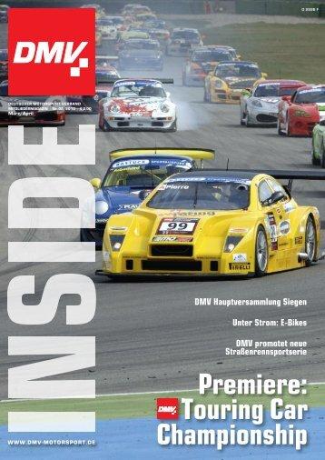 Premiere: Touring Car Championship - Deutscher Motorsport ...