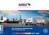 Die Contailer-Fahrgestelle - Trailerbook - Schmitz Cargobull AG