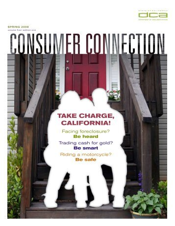 Take Charge, California! - Department of Consumer Affairs - State of ...