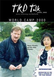 WORLD CAMP 2000 - International Taekwon-do Federation of New ...