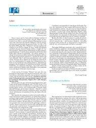 Recensioni - Recenti Progressi in Medicina
