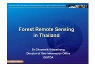 Forest Remote Sensing in Thailand
