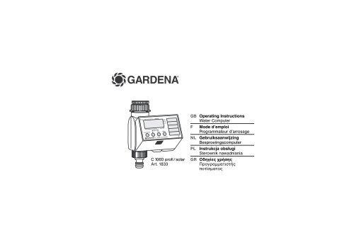 OM, Gardena, Water Computer, Art 01833-20, 2002-12 - Gardena.com