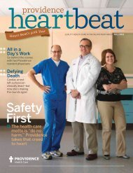 Issue 3 - Fall - Providence Washington - Providence Health & Services