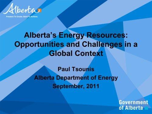 Alberta's Energy Resources - FEI Canada