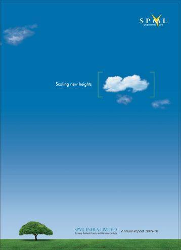 2009-10 Annual Report - SPML