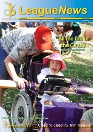 All the fun of the Circus - Cerebral Palsy League