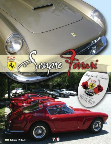 Sempre Jan-Feb 05a.qxd - Ferrari Club of America - Southwest ...
