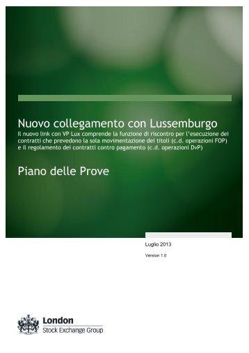 VP Lux - Monte Titoli
