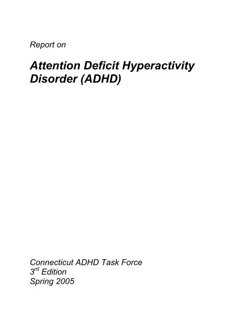 ADHD - The State Education Resource Center Example Of An Adhd Formal Sentence Outline on examples of annotated bibliography, examples of speech to inform, examples of formal outlining, examples of question of policy,