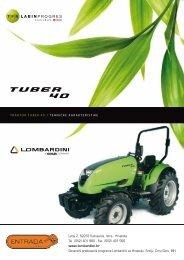 Karakteristike traktora - Entrada d.o.o