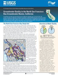 U.S. Geological Survey And The California State Water