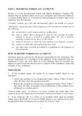 Workplace Accidents and Dangerous Occurrences - Page 6