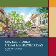 CRA Target Areas Special Development Plan - City of Ocoee