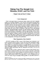 Making your way through grey: Metadata, MARC ... - Moya K. Mason