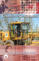 Jobs in Community Government - Department of Municipal and ...