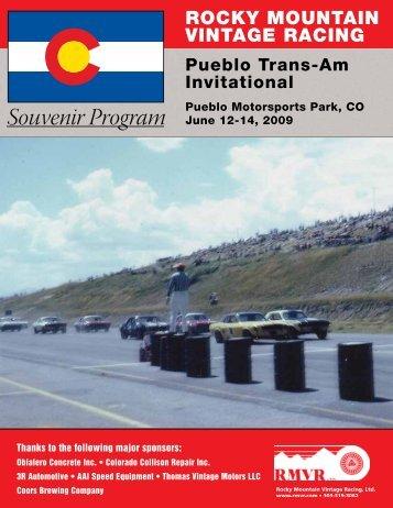 2009 - Rocky Mountain Vintage Racing