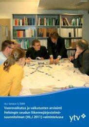 HLJ 2011:n SOVA-lain mukainen vaikutusten arviointi - HSL