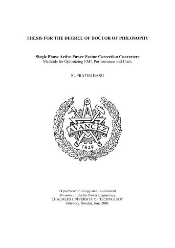 thesis for the degree of doctor of philosophy Individuals who have earned a doctor of philosophy degree may, in most jurisdictions, use the title doctor (often abbreviated dr) or, in non-english speaking countries, variants such as dr phil with their name, and may use post-nominal letters such as phd, phd (depending on the awarding institute.