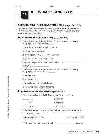 acids bases and salts 19 teacherweb. Black Bedroom Furniture Sets. Home Design Ideas