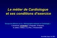 Le Métier de Cardiologue
