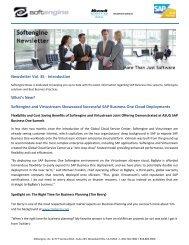 Newsletter Vol 35 Spotlight - Softengine