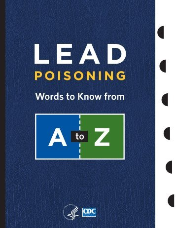 Lead Poisoning - Centers for Disease Control and Prevention