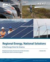 Regional Energy, National Solutions - Center for American Progress