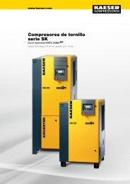 Compresores de tornillo Serie SK - Kaeser