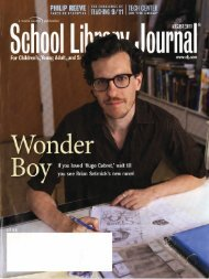 School Library Journal - Scholastic Media Room
