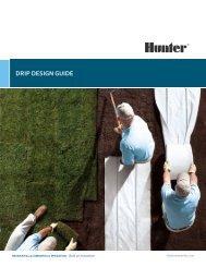 dRip design guide - Hunter Industries