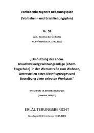 ERLÄUTERUNGSBERICHT - und Kreisstadt Bad Salzungen